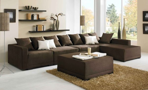 exklusives designer luxus big ecksofa couch arizona. Black Bedroom Furniture Sets. Home Design Ideas